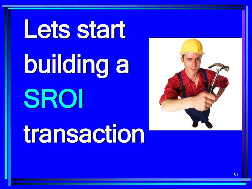 Lets start building a