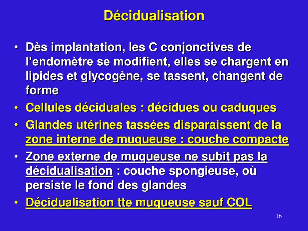 Décidualisation