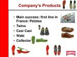 company s products