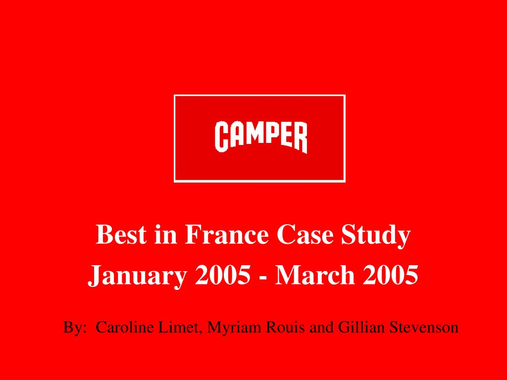 Best in France Case Study