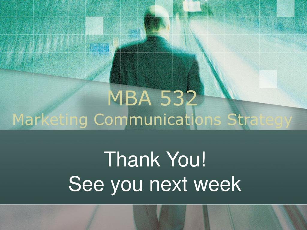 MBA 532