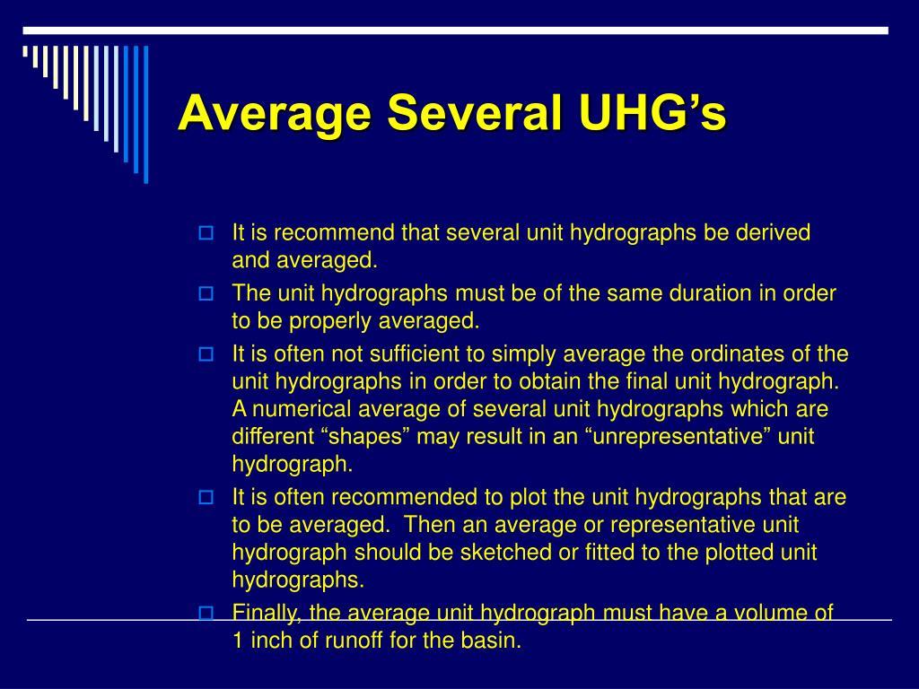 Average Several UHG's