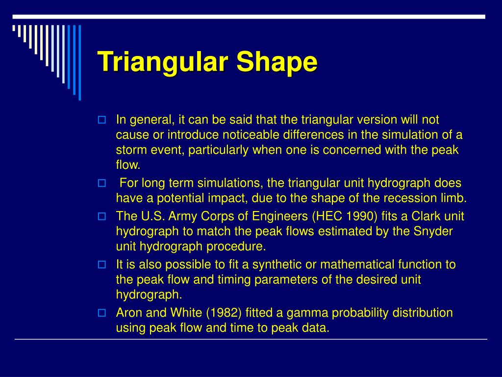 Triangular Shape