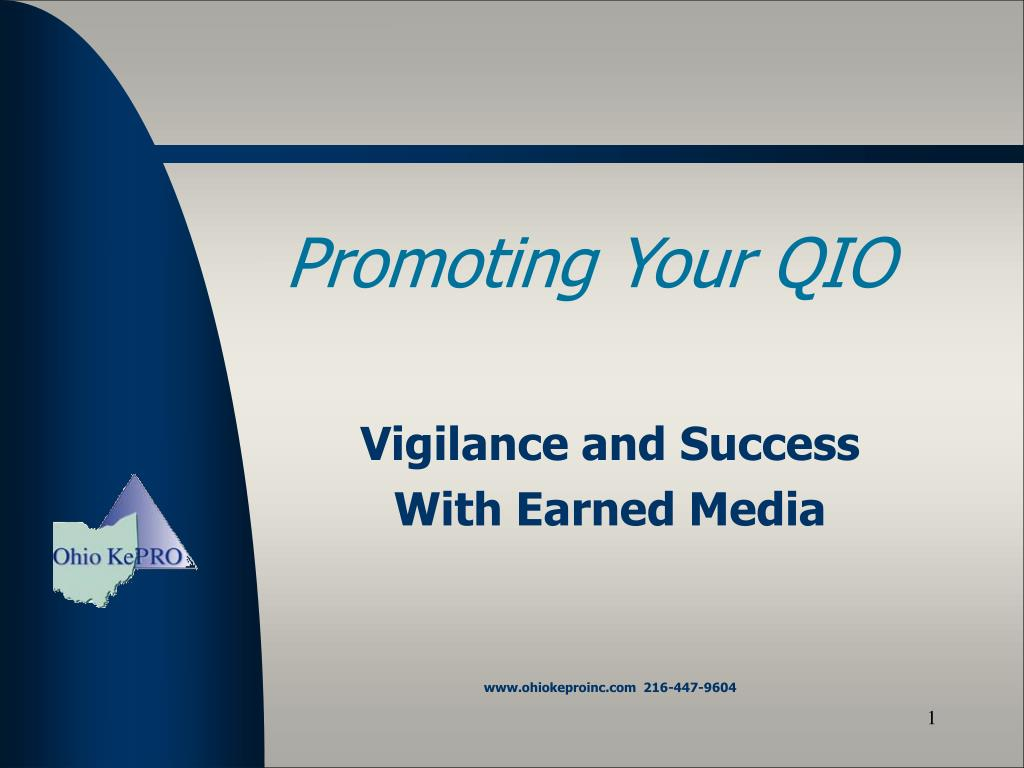 Promoting Your QIO