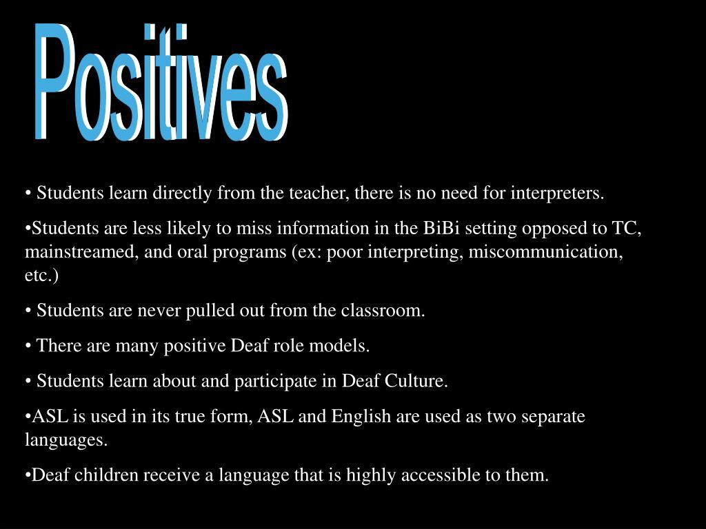 Positives