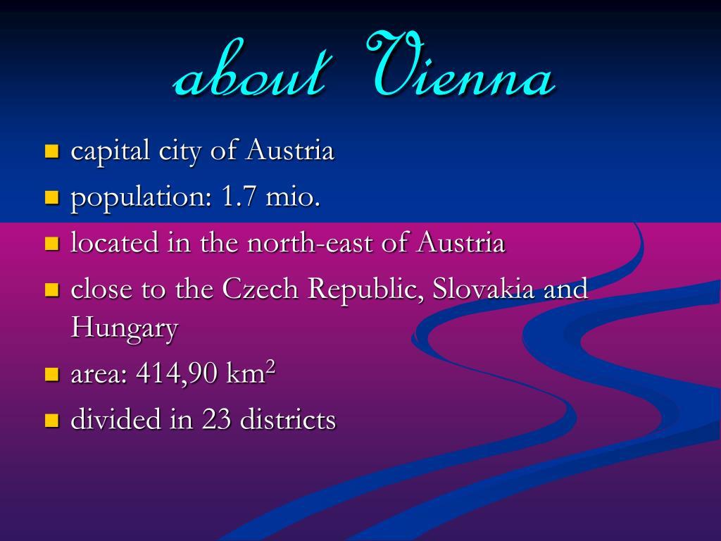 about Vienna