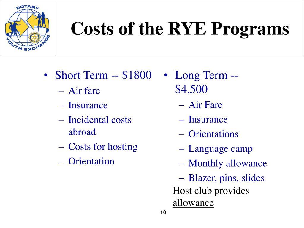 Short Term -- $1800