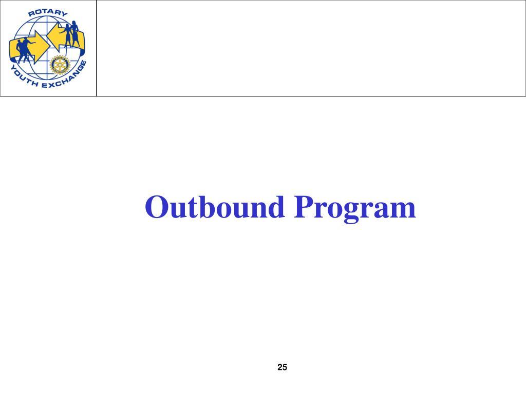 Outbound Program