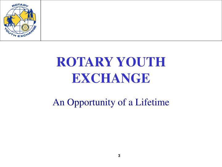 Rotary youth exchange3