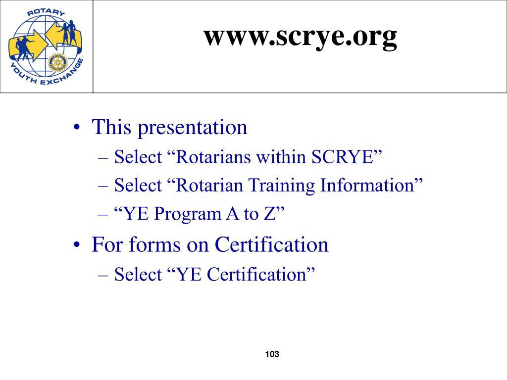 www.scrye.org