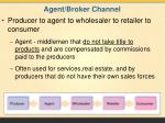 agent broker channel