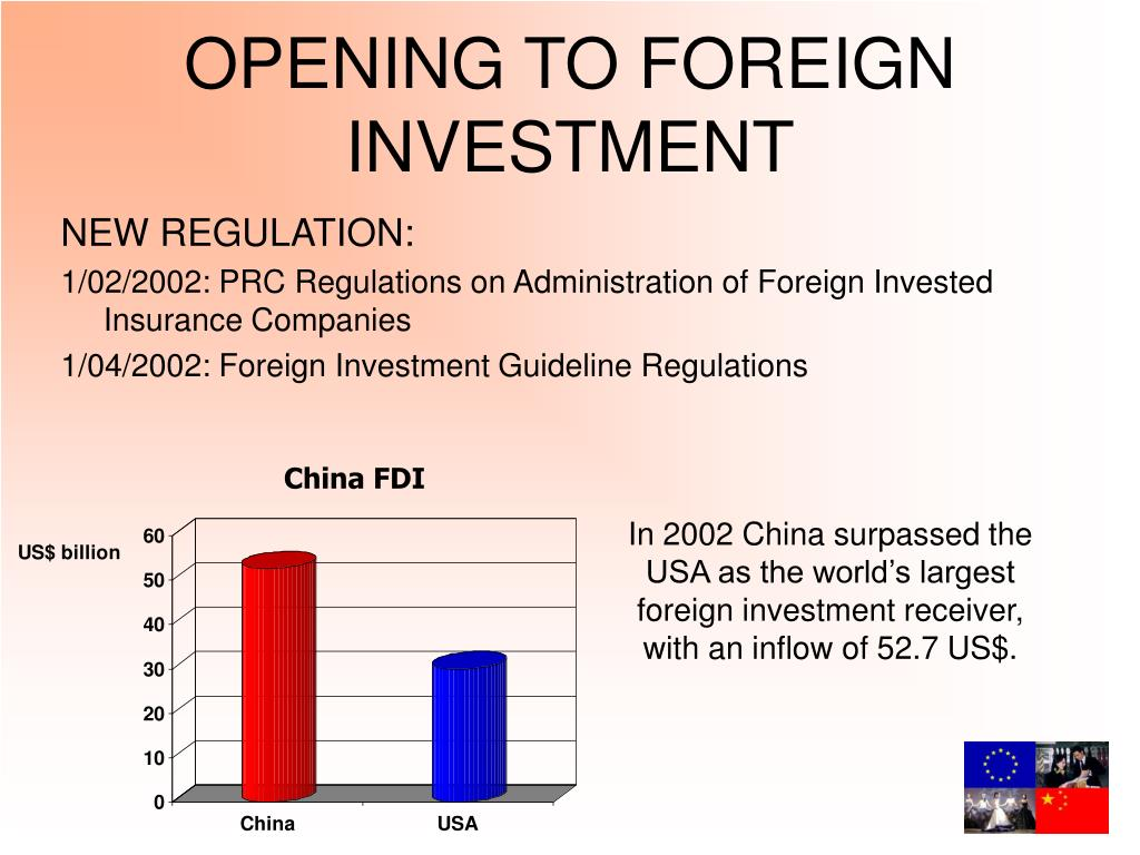 OPENING TO FOREIGN INVESTMENT