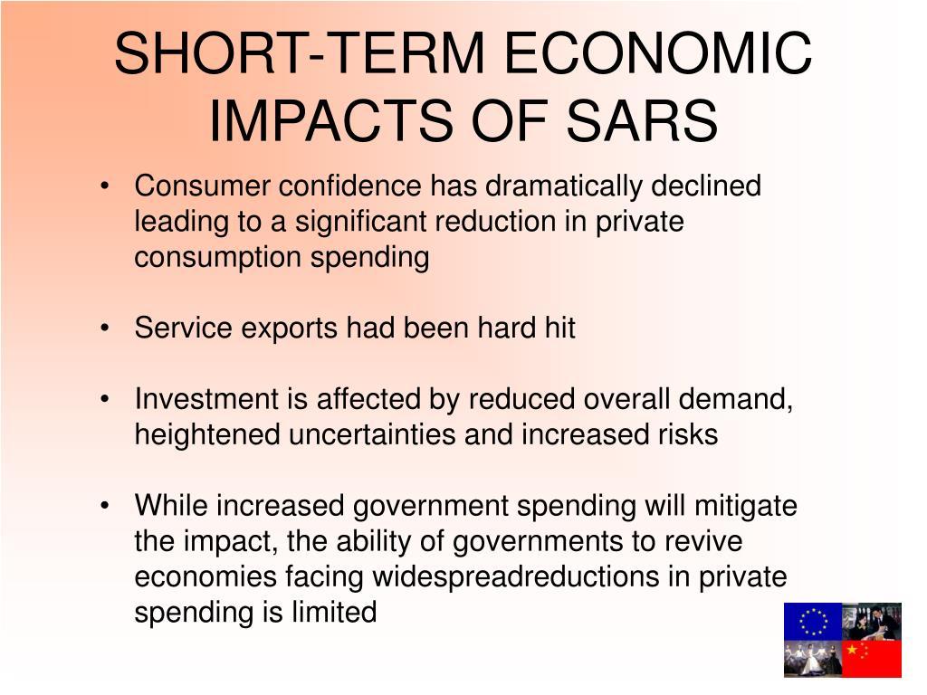 SHORT-TERM ECONOMIC IMPACTS OF SARS