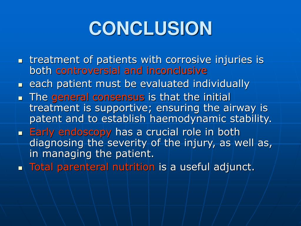 PPT - Corrosive injury to upper gastrointestinal tract