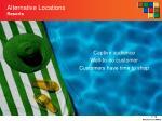alternative locations resorts