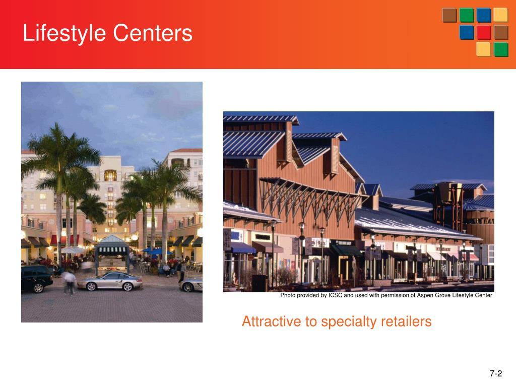 Lifestyle Centers