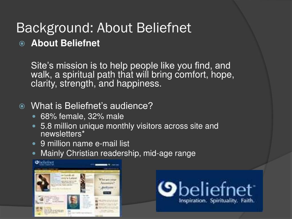 Background: About Beliefnet