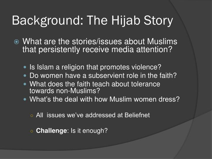 Background the hijab story