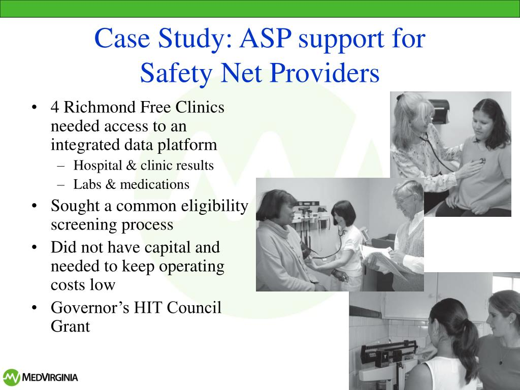 Case Study: ASP support for