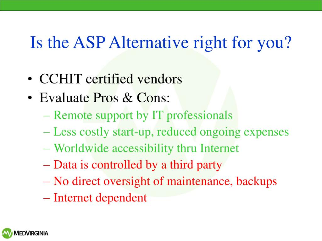 Is the ASP Alternative right for you?