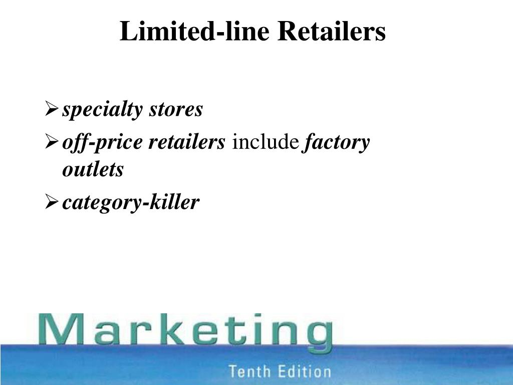 Limited-line Retailers
