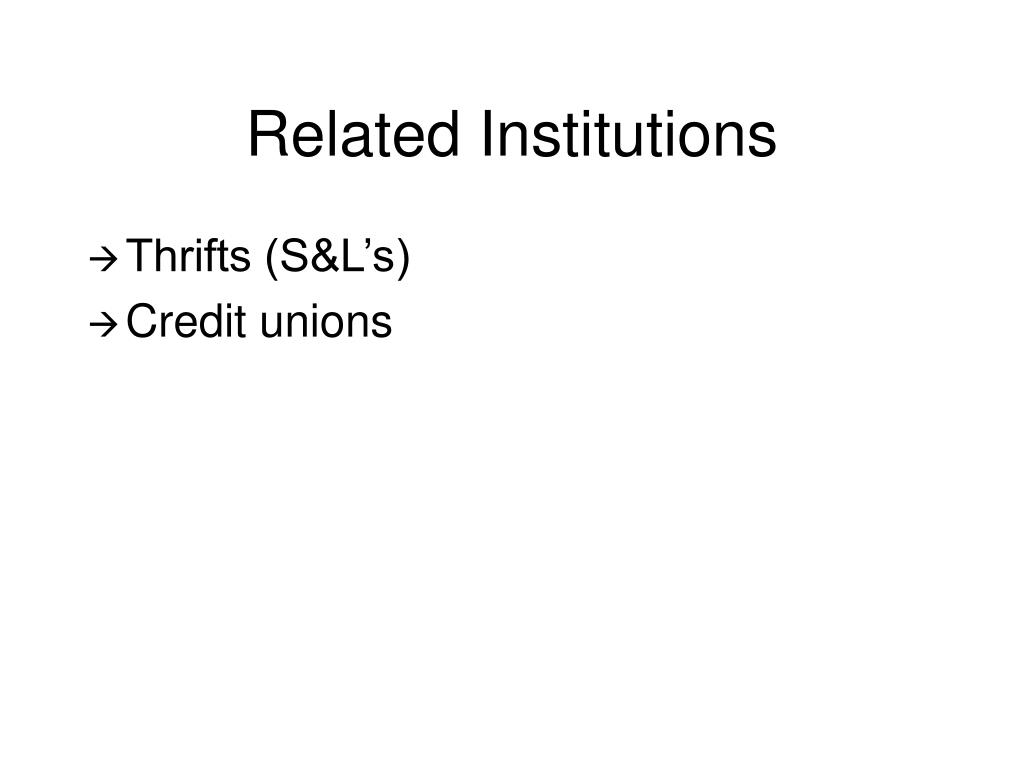 Related Institutions