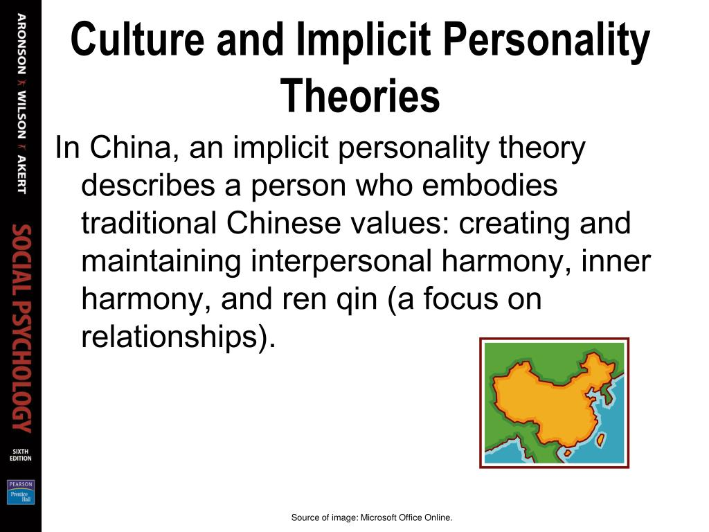Culture and Implicit Personality Theories