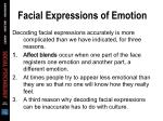facial expressions of emotion13