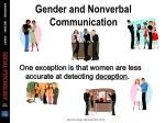 gender and nonverbal communication21
