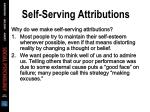 self serving attributions66