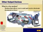other output devices34