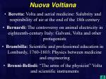 nuova voltiana