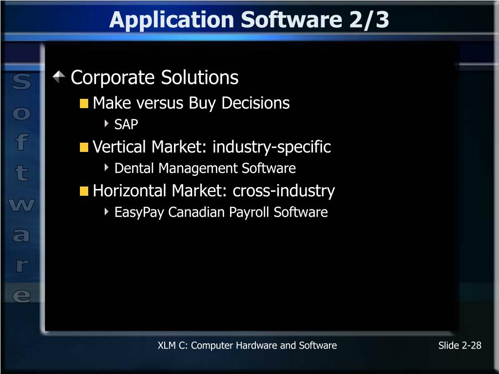 Application Software 2/3