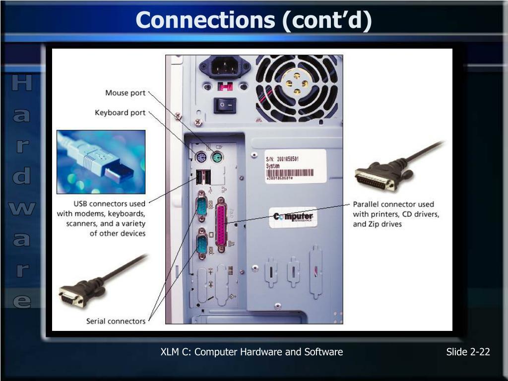 Connections (cont'd)