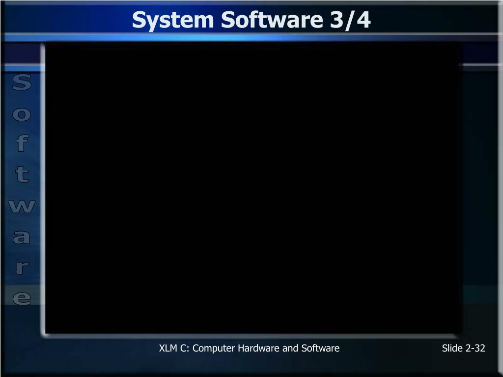System Software 3/4