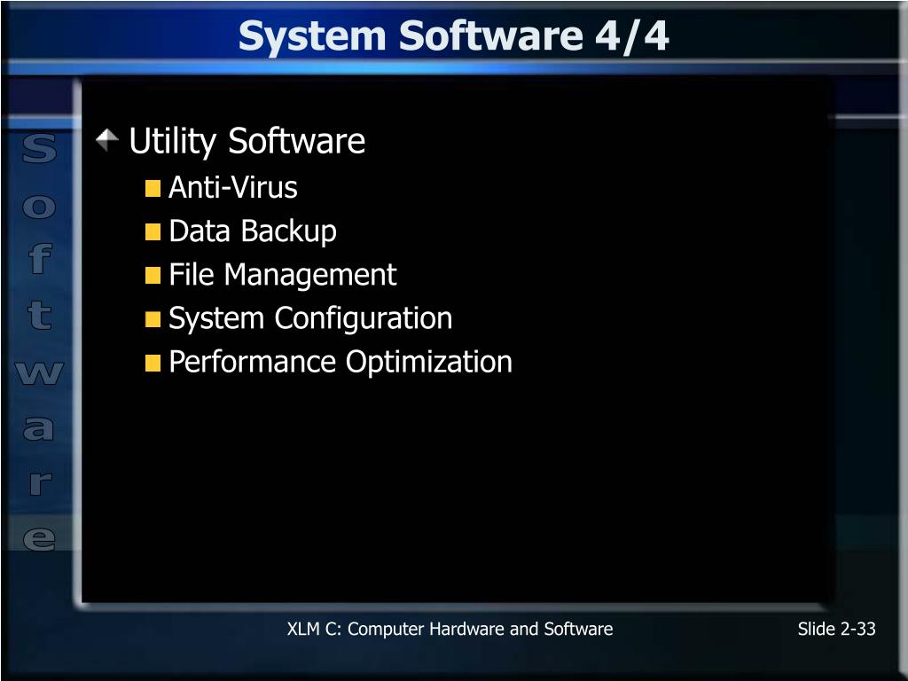 System Software 4/4