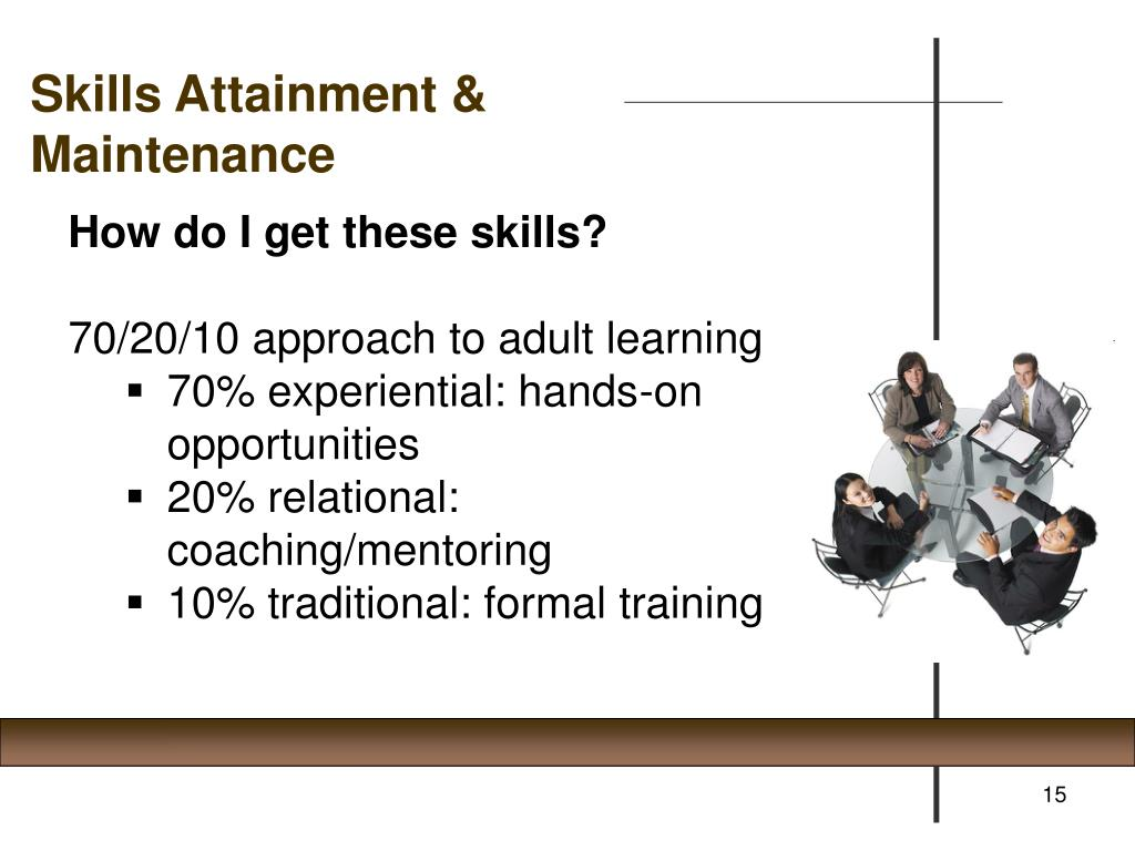 Skills Attainment &
