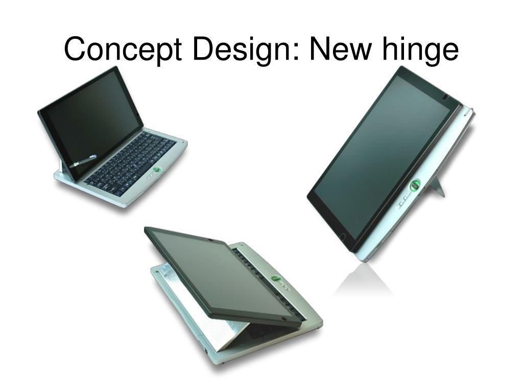 Concept Design: New hinge