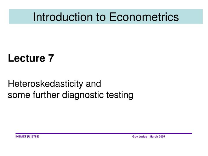 Introduction to econometrics l.jpg