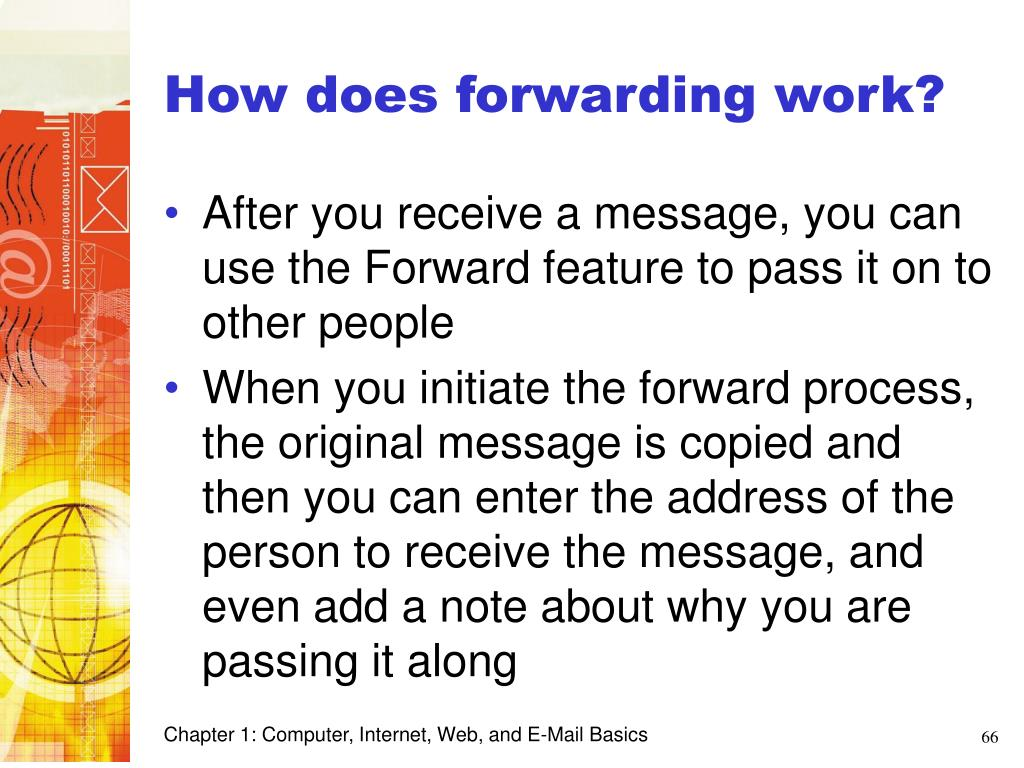 How does forwarding work?