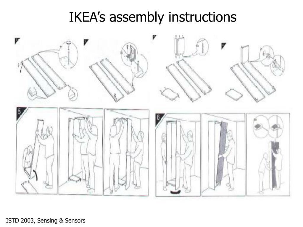 IKEA's assembly instructions