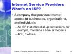 internet service providers what s an isp