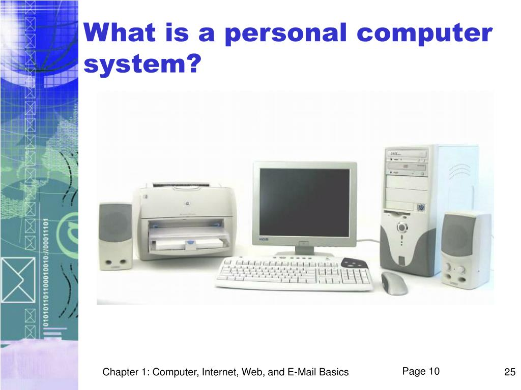 What is a personal computer system?