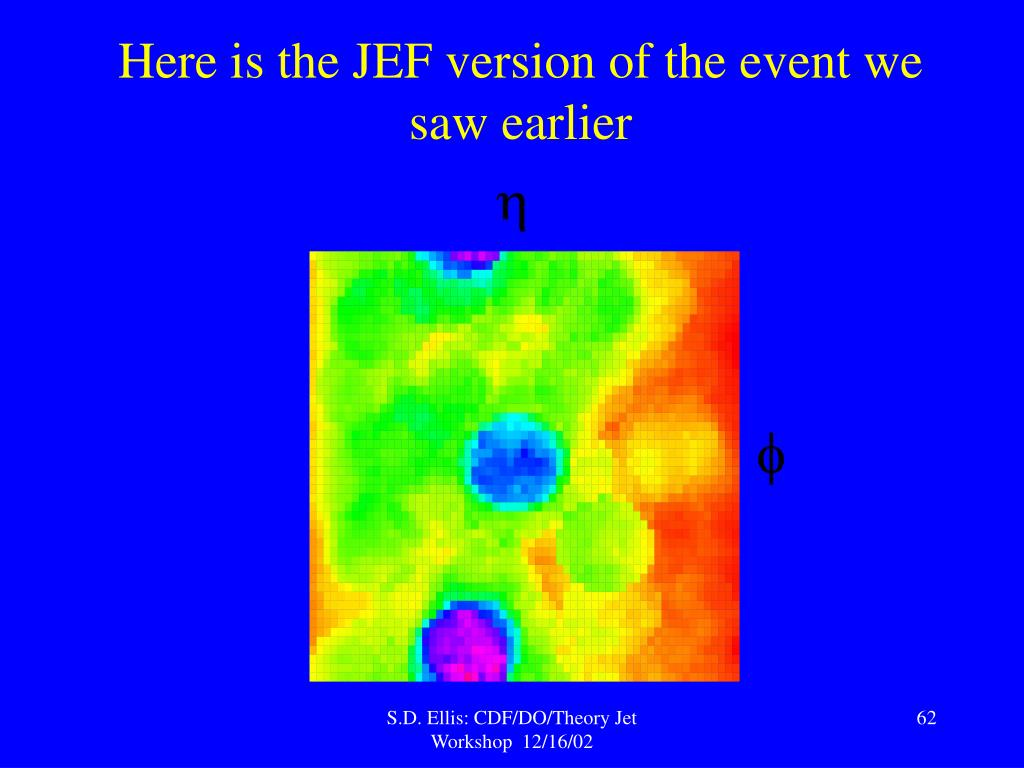 Here is the JEF version of the event we saw earlier