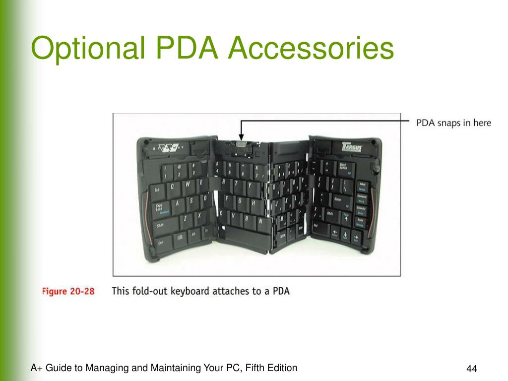 Optional PDA Accessories