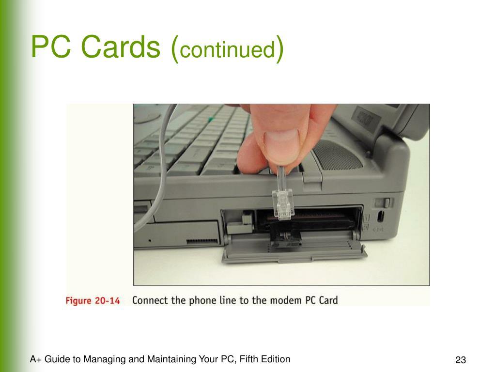 PC Cards (