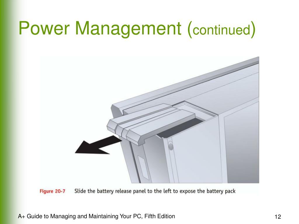 Power Management (