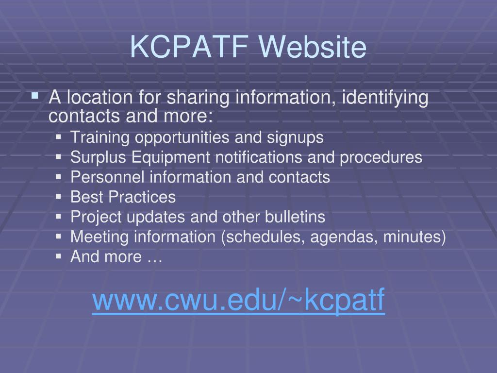 KCPATF Website