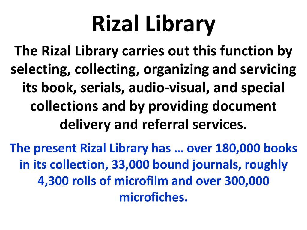 Rizal Library