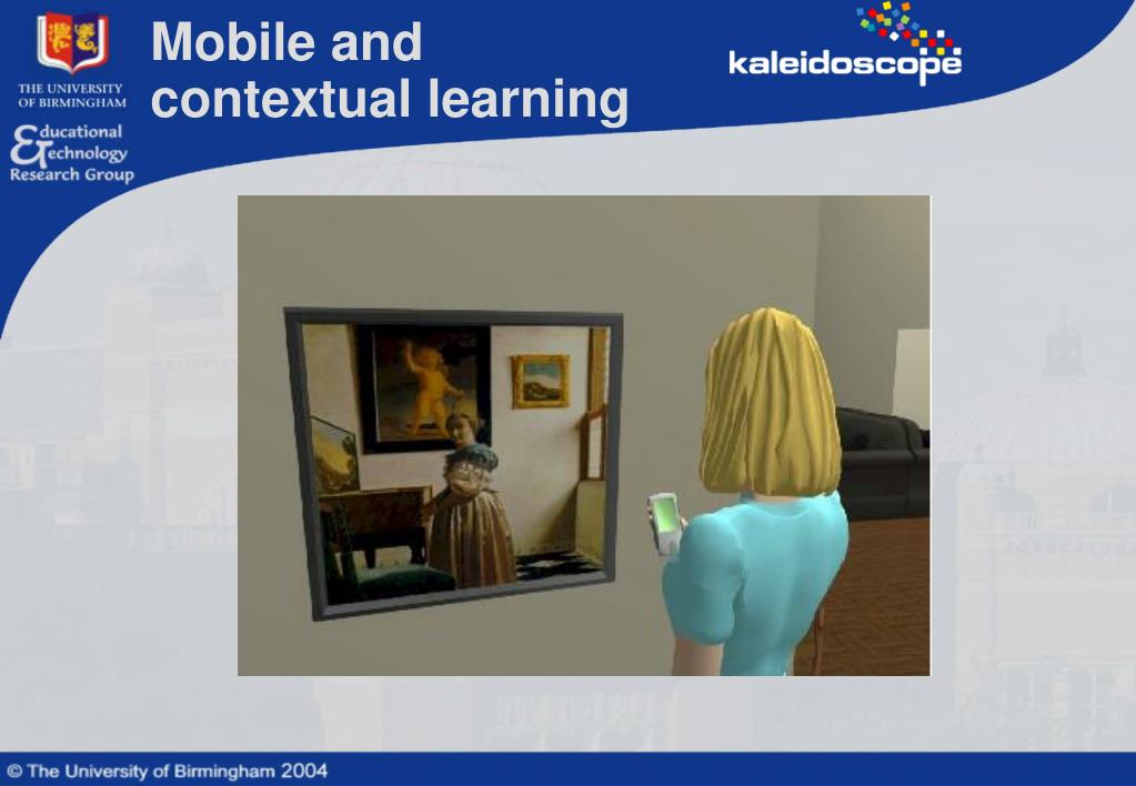 Mobile and contextual learning